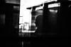 Contour 119.365 (ewitsoe) Tags: canon 6dii eos 50mm reflection womna silhouette train ride window monochrome bnw blackandwhite grain ady poland polska ewitsoe city 365 119 winter travel tourist
