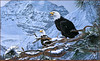 Panthera_0873_Ron_S._Parker_Eagles_in_the_Pine (TXscans-KRJ) Tags: eagles bald eagle