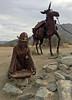 The Old Prospector (cowyeow) Tags: usa america us art sculpture statue california rust folkart metal anzaborrego desert statepark anzaborregodesert borrego weird prospector figurine gold goldrush