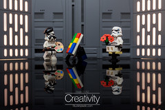 Creativity (Ballou34) Tags: 2018 7dmark2 7dmarkii 7d2 7dii afol ballou34 canon canon7dmarkii canon7dii eos eos7dmarkii eos7d2 eos7dii flickr lego legographer legography minifigures photography stuckinplastic toy toyphotography toys stuck in plastic sipgoes52 starwars star wars sw stormtrooper stormtroopers creativity painting paint moustache flower flowers