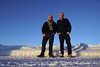 Fred and Charles high up in the snow (CharlesFred) Tags: ardahan snow kars neige sneeuw neve ghiaccio ijs ice