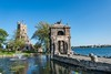 Entry Arch and Alster Tower (kevnkc2) Tags: stdntsdoncooper lightroom stlawrenceriver september trip vacation nikon d610 2485mm newyork 1000islands alexandriabay