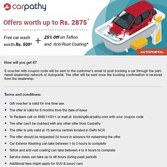 Get benefits worth ₹2875/- when you buy your next car at @autoportal_india Look up Offers: http://bit.ly/2nL4xLK #carpathy #autoportal #caroffers #cars (carpathy_app) Tags: carpathy instagram delhi india car cars company business