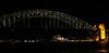 Under the Bridge (Neal3K) Tags: sydneyharbourbridge througharchbridge sydney australia sydneyharbour night nightphotography operahouse lighting