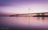 Bay Bridge Sunrise! (wandering indian) Tags: sf sanfrancisco baybridge bayarea kedardatta landscape city cityscape bridge sunrise sunlight cloudsstormssunsetssunrises longexposure nikon nikond810 california