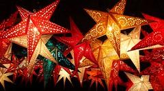 Christmas Star Lights [Explored Dec 10, 2017] (G_E_R_D) Tags: weihnachtsmarkt christmasmarket christkindlmarkt sterne stars weihnachten xmas starlights leuchtsterne bamberg bayern bavaria
