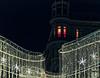 Vienna by Night: Red Window (macplatti) Tags: xt2 xf55200mmf3548rlmois red redlight rot rotlicht street curtain vorhang light beleuchtung weihnachtsbeleuchtung wien vorarlberg austria aut