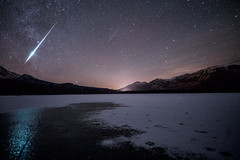Geminid Meteors - Jasper National Park, Alberta, Canada (Jack Fusco) Tags: geminid geminids meteorshower meteor meteors jaspernationalpark alberta geminidmeteorshower2017