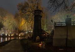 Mittelalter Lichter Weihnachtsmarkt (achim-51) Tags: baum turm himmel gebäude fredenbaum dortmund nrw nacht night christmasmarket weihnachtsmarkt panasonic dmcg5 lumix