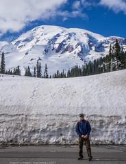 Snow Volcano [Explored!] (DugJax) Tags: mountrainier mountrainiernationalpark henrymjacksonmemorialvisitorcenter paradise washington volcano sonyalpha sonya6000 explore