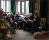 Jacaranda playing at Baddesley Clinton (alanhitchcock49) Tags: baddesley clinton national trust house warwickshire ferrers family 16 december 2017 interior jacaranda recorder quartet
