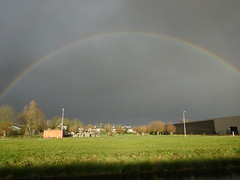 Rainbow over De Meern (harry_nl) Tags: netherlands nederland 2017 demeern rainbow regenboog