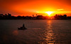 coming back home (charlidino) Tags: beach birds boat gold people sky sonyrx10m4 sunset work