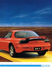 1995 Mazda RX-7 Rotary Page 2 Aussie Original Magazine Advertisment (Darren Marlow) Tags: 1 9 5 m mazda r x 7 rx7 rotary j jap japan asian a automobile car sports vehicle v collectors collectible classic 90s