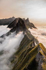Clouds (NikRoth) Tags: landscape mountains alps swiss switzerland clouds sky high size travel