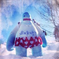 Mantra Bill (nefasth) Tags: hipstamatic designertoy jouet toy vinyl strangekiss billtheyeti davidlanham kozik mantrabill