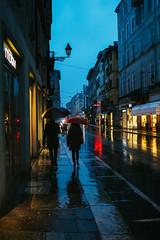 Sotto la pioggia (matteoguidetti) Tags: rain rainy day city urban light lights pioggia luci città colori people