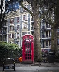 Phone Box, Columbia Road (London Less Travelled) Tags: unitedkingdom uk britain england london street city urban shoreditch bethnalgreen columbia road telephone phone phonebook red