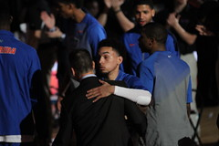 IMG_7879 Chris Chiozza 11 Intro (dbadair) Tags: universityuffloridagators201513connecticuthuskiesbasketballsecodomeucon florida unitedstates uf gators sec basketball ncaa o'connell center gainesville