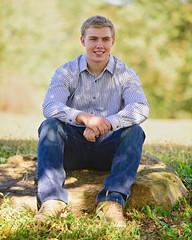 Casual (R.A. Killmer) Tags: blaise hampton talbots highschool seniorphotos senior jeans pose portrait man smile football