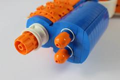 Nerf details 1 (Pistash) Tags: pistash moc bpchallenge brickpirate lego nerf elite toy