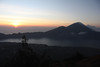 Sunrise over the Lake Batur, Vulcano Agung in the back (EduardMarmet) Tags: bali indonesien idn gunung vulcano batur agung