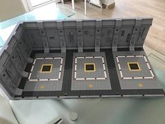 LEGO® Star Wars: Interceptor Starfighter Hangar 2.0 - 01 (jm_aalen) Tags: lego® moc afollu star wars starwars greebles starfighter space spaceship nurbies republic cockpit widget battle gunship interceptor hangar eta2 actis