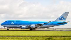 Boeing 747-406(M) PH-BFF KLM Royal Dutch Airlines (William Musculus) Tags: boeing 747406m phbff klm royal dutch airlines amsterdam schiphol airport spotting polderbaan ams eham 747400m combi william musculus