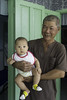 Ba và Quắn (Grandfather and his youngest grandchild) (ngoctrong_pham) Tags: grandfather grandchild smile sài gòn saigon vietnam youngest baby son father touit32 sony touit32f18 touit1832 happynewyear 2018