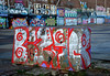 graffiti amsterdam (wojofoto) Tags: amsterdam graffiti streetart nederland holland netherland wojofoto wolfgangjosten ndsm bizar