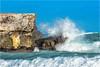 Crashing Waves (soupie1441) Tags: cayo coco cuba nikon d7200 70300mm nikkor white foam crashing blue