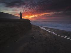 Sumendia Sutan (BIZKAIA) (Jonatan Alonso) Tags: azkorri getxo bizkaia longexposure beach sunset winter coast rocks landscape laowa75