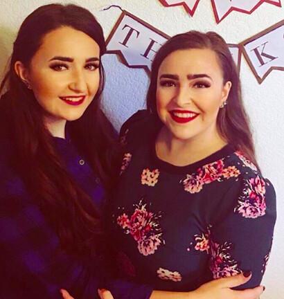 Brittni Vargas with sister Breana Vargas