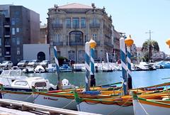 Sète en plein soleil (guy dhotel) Tags: port quai sun harbour boats bateau