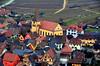 Niedermorschwihr (Philippe Haumesser Photographies (+ 5000 000 views) Tags: roof halftimberings couleurs colors village bâtiment bâtiments building buildings maisons house maison houses niedermorschwihr alsace elsass france hautrhin 68 2016 grass colombages pelouse route arbre église church road chemin way nikond7000 nikon d7000 reflex vigne vignes wine wines vignoble vineyard vineyards