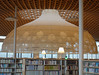 Toyo Ito - Gifu Media Cosmos (2015) (fb81) Tags: japan gifu toyoito central library media cosmos minnanomori forest modern architecture roof funnel curved globe threedimensional polyester shade light book