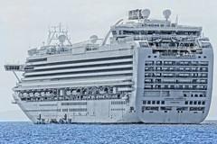 Really BIG Ship (Emerald Princess) (chumlee10) Tags: south pacific southpacific emeraldprincess cruise cruise2017 ship maui hawaii boat sea sky water vessel