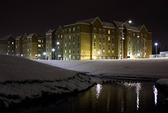 Newhall (nicholas_rosso1996) Tags: college snow firstsnow soothing silence drift