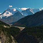 Glacier Sywalk (High Res Stitched Panorama, 14 images) thumbnail