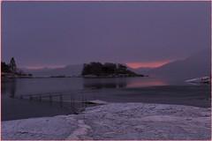 snowy, lazy morning... (bitmap_idx) Tags: sunrise fjord