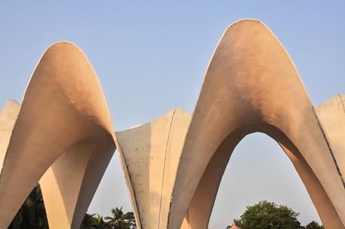 Shrine of three national leaders, Dhaka