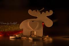 Work in progress (Raffaella T.) Tags: macro macromondays candlelight reindeer home indoor