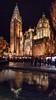 Llega la Navidad (Jaime A Ballestero) Tags: jaimea toledo plaza ayuntamiento catedral reflejo navidad luces tiovivo noche
