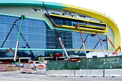 Milwaukee Bucks New Arena Under Construction Milwaukee Wisconsin 12-20-17  8999 (www.cemillerphotography.com) Tags: rich poor massincarceration racism mentallyill violence paroleofficer billionaires profits stadium sports basketball humanrights torture solitaryconfinement prison revocation jail bail mistreatment dueprocess law legal court overcrowding africanamericans blacks force lockdown penalsystem discrimination wealth poverty probation arrested crime