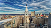 Up in Philly (Darren LoPrinzi) Tags: philadelphia philly urban aerial city dji drone phantom4pro phantom4proplus cityhall bridge benfranklinbridge river delawareriver centercity buildings building clocktower psfs highrise skyscraper skyscrapers sky clouds cloudscape