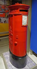 D17782.  GR Pillar Box. (Ron Fisher) Tags: pillarbox royalmail postofficemuseum mailbox postoffice london red sony sonyrx100iii sonyrx100m3 england gb greatbritain uk unitedkingdom europe europa