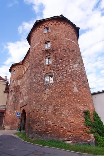 Wysoka Brama (1466-78) w Lidzbarku Warmińskim od południa