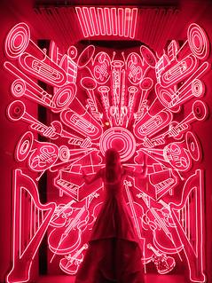 Neon on 5th Avenue - Bergdorf Goodman
