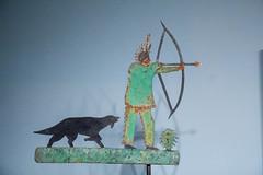 art institute. june 2015 (timp37) Tags: chicago illinois june 2015 art institute weather vane indian bow arrow dog native american