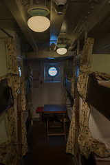 third-class cabin (kasa51) Tags: ship liner cabin thirdclass dim hikawamaru yokohama japan 三等客室 氷川丸 1930(昭和5)年竣工 small bunkbed 二段ベッド